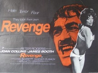 Revenge (1971 film) - UK theatrical release poster