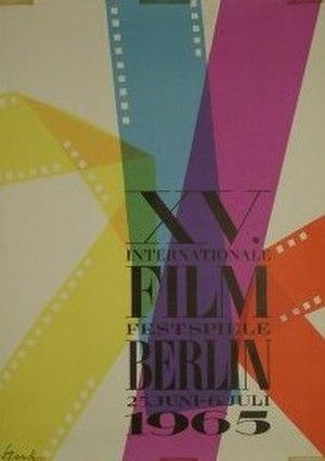 15th Berlin International Film Festival - Festival poster