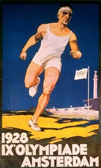 1928 Summer Olympics - Official poster