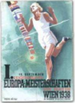 1938 European Athletics Championships - Image: 1938 European Athletics Championships logo