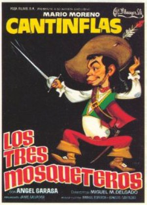 The Three Musketeers (1942 film) - Theatrical release poster