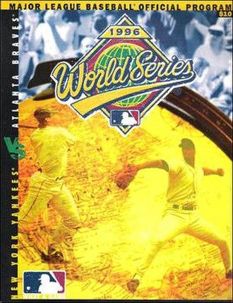 1996 World Series - Image: 1996 World Series program
