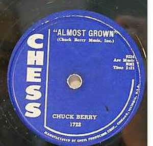Almost Grown (song) - Image: 1 chuck almost grown