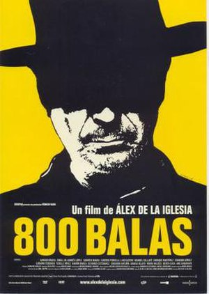 800 Bullets - Theatrical release poster by Oscar Mariné