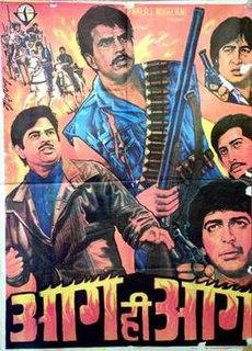 <i>Aag Hi Aag</i> 1987 Indian Hindi film