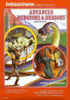 <i>Advanced Dungeons & Dragons: Cloudy Mountain</i> 1982 video game