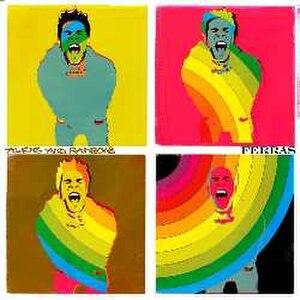 Aliens & Rainbows - Image: Aliens & Rainbows (Ferras album cover art)