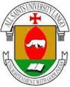 All Saints University - Image: All Saints University Lango logo