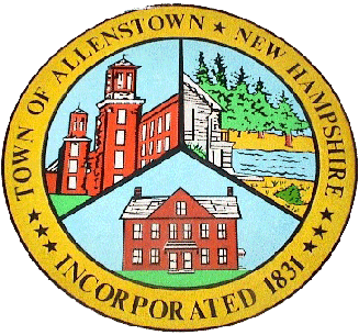 Official seal of Allenstown, New Hampshire