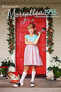 <i>An American Girl Story – Maryellen 1955: Extraordinary Christmas</i> 2016 film by Valerie Weiss