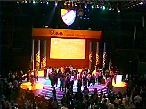 AMA Computer University - Graduation ceremony in Quezon City