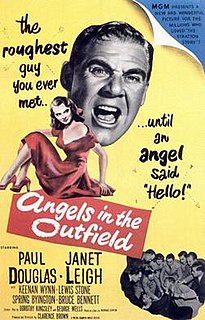 <i>Angels in the Outfield</i> (1951 film) 1951 American comedy film