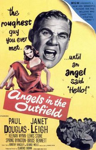 Angels in the Outfield (1951 film) - Image: Angels in the Outfield Poster