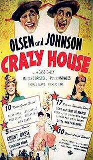 <i>Crazy House</i> (1943 film) 1943 film by Edward F. Cline