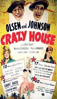 Image result for crazy house 1943