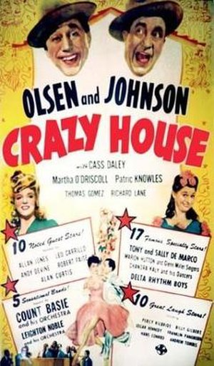 Crazy House (1943 film) - Video tape cover.