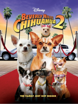 Beverly Hills Chihuahua 2 - DVD cover