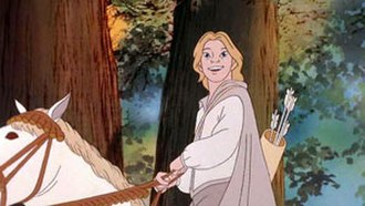 Legolas - Legolas in Ralph Bakshi's animated version of The Lord of the Rings.