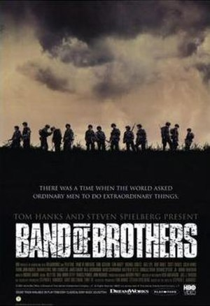Band of Brothers (miniseries) - Promotional poster for Band of Brothers