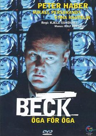Beck – Öga för öga - Swedish DVD cover