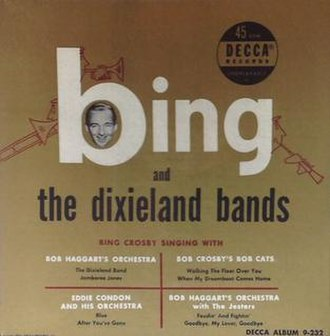 Bing and the Dixieland Bands - Image: Bing and the Dixieland Bands cover