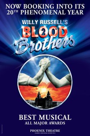 Blood Brothers (musical) - 20th Anniversary London Poster