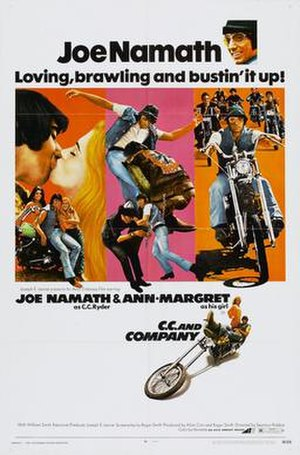 C.C. and Company - Image: C c and company poster 01