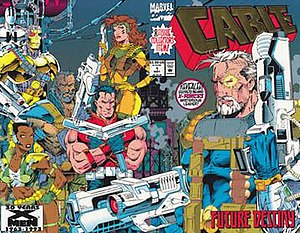 Cable (comic book) - Image: Cable 01 wrap
