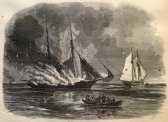 Battle of Portland Harbor - Image: Caleb cushing