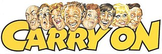 <i>Carry On</i> (franchise) sequence of 31 low-budget British comedy motion pictures