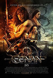 <i>Conan the Barbarian</i> (2011 film) 2011 film by Marcus Nispel