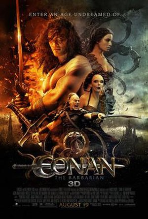 Conan the Barbarian (2011 film) - Theatrical release poster