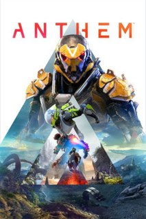 <i>Anthem</i> (video game) 2019 online multiplayer action role-playing video game developed by BioWare