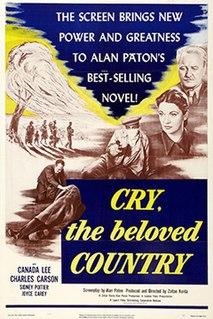 <i>Cry, the Beloved Country</i> (1951 film) 1951 film by Zoltan Korda