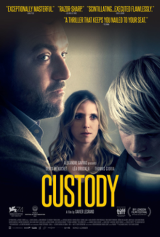 Custody (2017 film) - Film poster