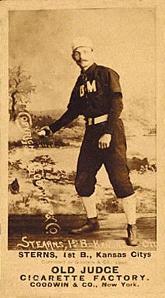 Dan Stearns - Image: Dan Stearns baseball card