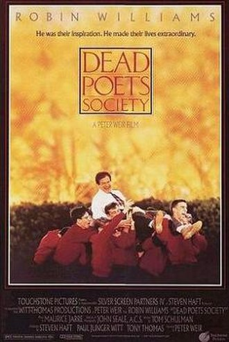 Dead Poets Society - Theatrical release poster