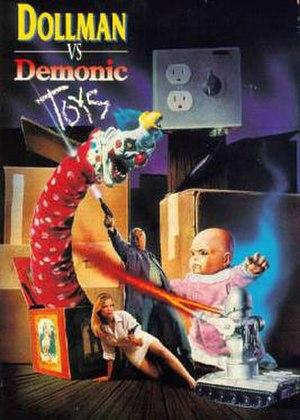 Dollman vs. Demonic Toys - DVD release cover