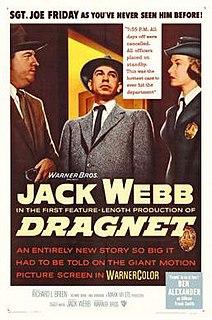 <i>Dragnet</i> (1954 film) 1954 movie with Jack Webb as Joe Friday