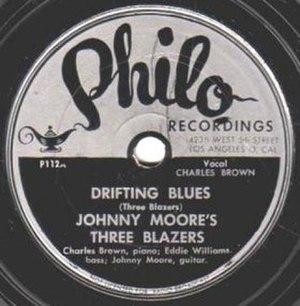 Driftin' Blues - Image: Drifting Blues single label