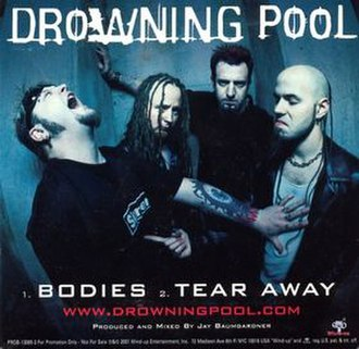 Bodies (Drowning Pool song) - Image: Drowning Pool Bodies CD Cover
