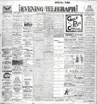 Evening Telegraph (Dublin) - Evening Telegraph, 16 June 1904