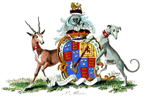 Duke of St Albans - Arms of the 1st Duke of St Albans