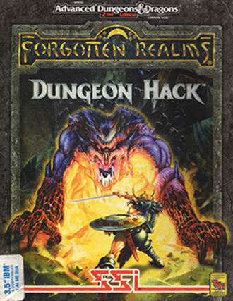 Dungeon Hack - MS-DOS cover art