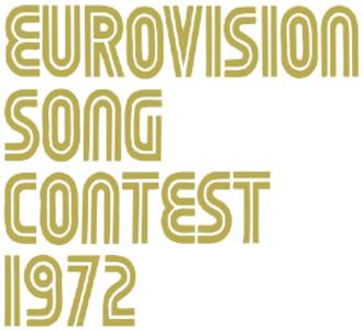 Eurovision Song Contest 1972 - Image: ESC 1972 logo