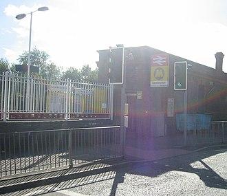 Earlestown railway station - Image: Earlestown Station ticket office