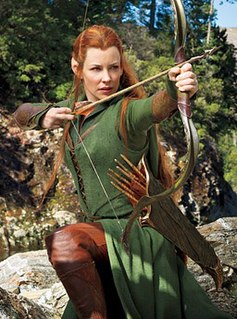 Tauriel Fictional character added to the movie adaptation of The Hobbit