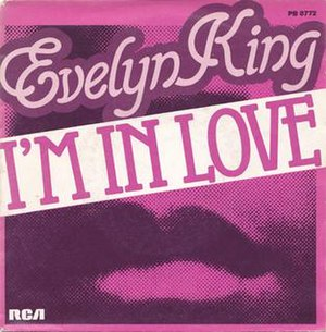 """I'm in Love (Evelyn """"Champagne"""" King song) - Image: Evelyninlove"""