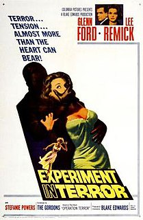 <i>Experiment in Terror</i> 1962 film by Blake Edwards