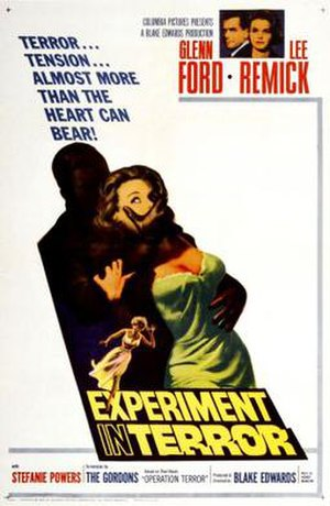 Experiment in Terror - Theatrical release poster